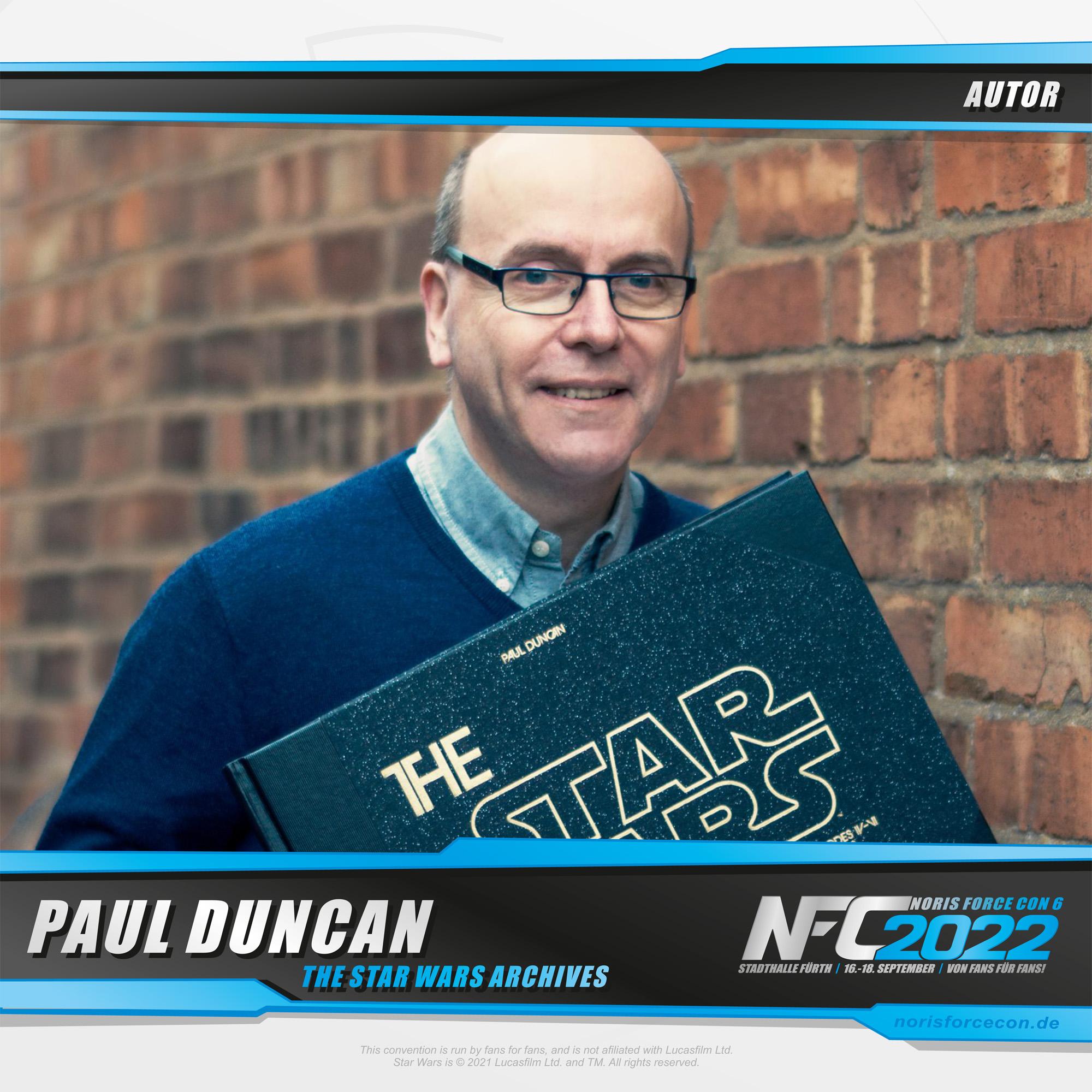 Paul Duncan - Noris Force Con 6 - Star Wars-Convention Deutschland, Nürnberg, Fürth